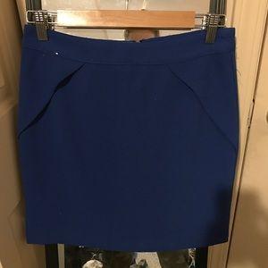 Forever 21 Blue Mini Pencil Skirt
